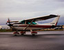 Cessna 182 on Ramp