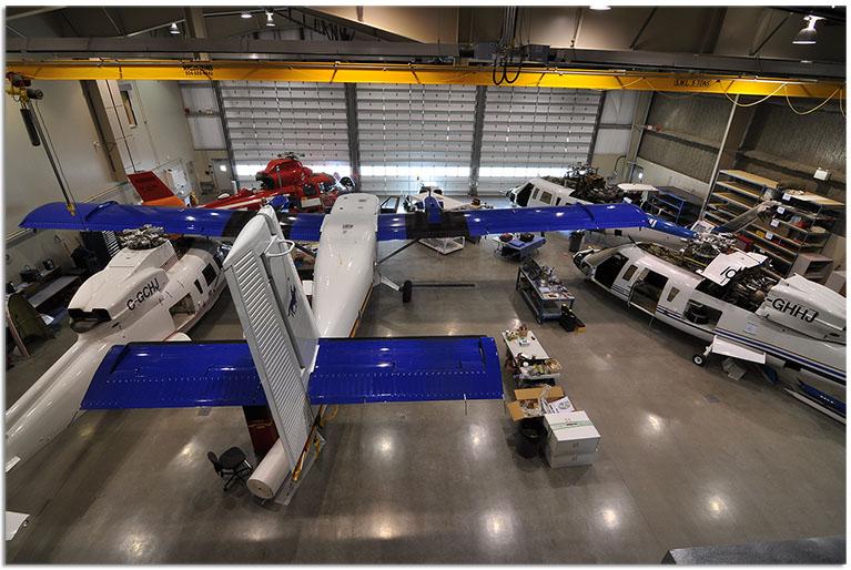 Commercial Aircraft Avionics upgrades at Maxcraft