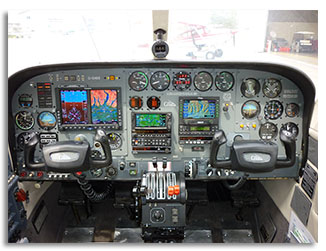 Cessna 340 -After