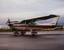 Cessna 182 on Ramp