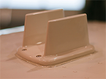 The Garmin GA-58 antenna for GTS traffic systems mounted on the cabin roof.