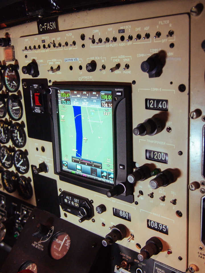 GTN-750 Installed