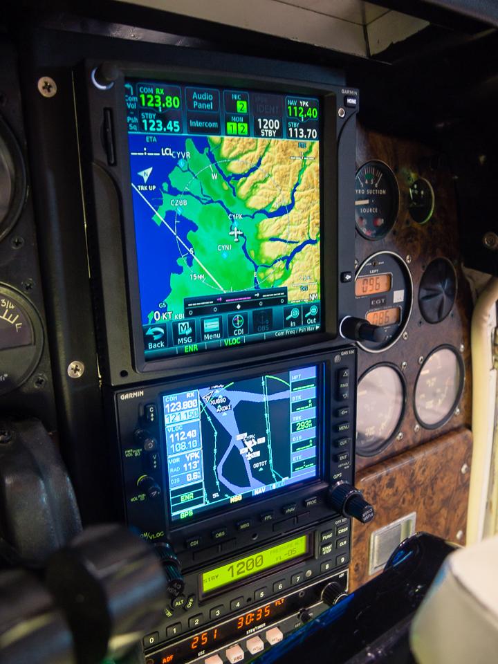 Navigator/Avionics Stack