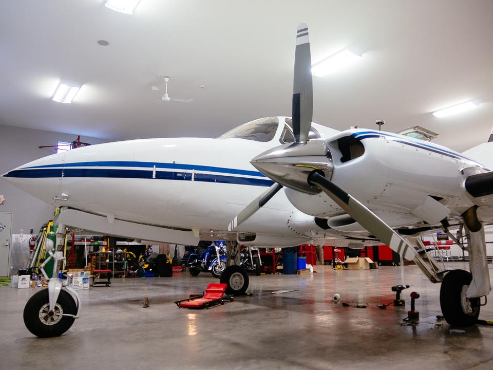 Cessna 340 exterior